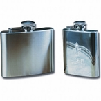 3oz Stainless Steel Hip Flask