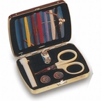 Silver Plated Travel Sewing Kit
