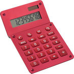 Aluminium calculator in metallic  colours